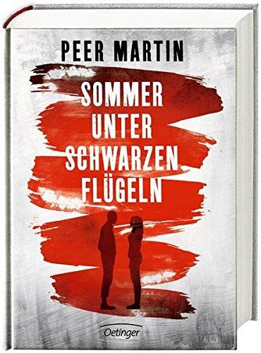 Buchseite und Rezensionen zu 'Sommer unter schwarzen Flügeln' von Peer Martin