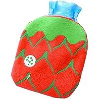 Set von 2 modischen Mini Hot Water Flasche klassischen schönen Hot Water Bag, rot preisvergleich bei billige-tabletten.eu