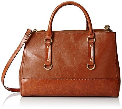 emilie-m-kimberley-two-tone-double-zipper-satchel-shoulder-bag-cognac-one-size