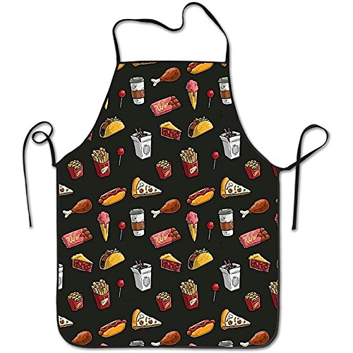 Sweet grape Unisex Kitchen Vintage Aprons Pizza Hotdog Chips Chicken Hamburger Chef Apron Cooking Apron Barbecue Vintage Aprons