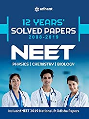 12 Years' Solved Papers CBSE AIPMT & N