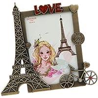 Sharplace Exhibición De La Foto Del Escritorio Del Marco Del Marco De La Torre Eiffel Del