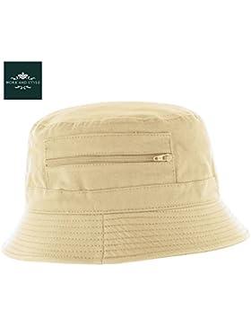 Atlaua– Sombrero de pescador by Work and Style - Beige, 58 cm
