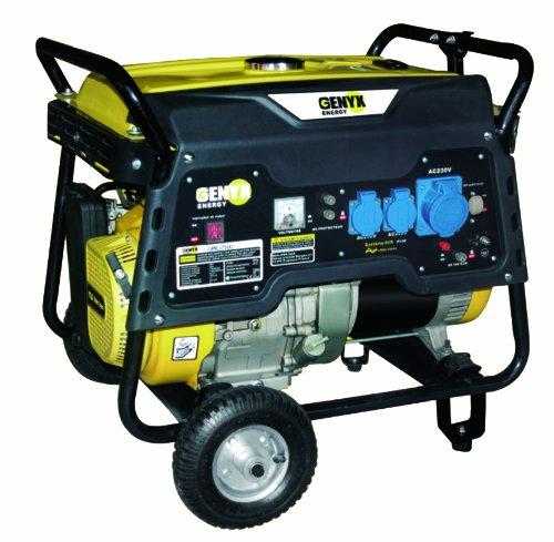 Genyx GPRO4000R Groupe électrogène de chantier pro puissance nominale/maximale 3500 W/4000 W