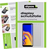 dipos I 6X Schutzfolie matt passend für Samsung Galaxy J4 Plus (2018) Folie Displayschutzfolie