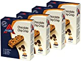 Atkins Chocolate Chip Crisp, Low Carb, High Protein Snack Bar, 20 x 30g