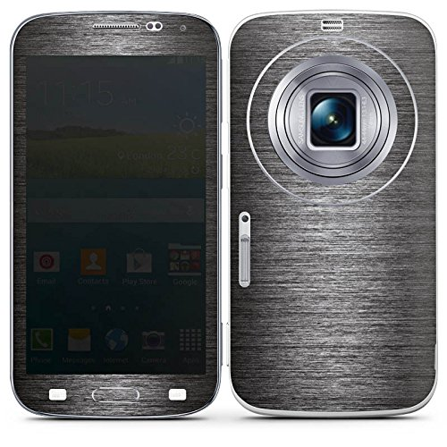 DeinDesign Samsung Galaxy K Zoom Folie Skin Sticker aus Vinyl-Folie Aufkleber Metall Erscheinungsbild Muster