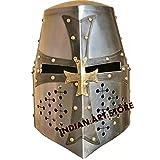 New Super Mittelalter Kreuzritter Templer Helm Armour Helm römischen Knight Helm LARP SCA Helm