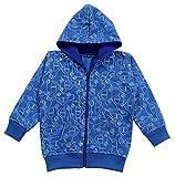 Kuchipoo Unisex Kids Hoodie Kids Jacket with Hood (KUC-HOD-102-2-3 Years, Blue, 2-3 Years)