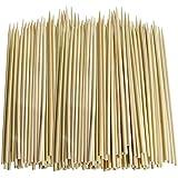 Primi desechables Natural la quema de bambú carbonizado barbacoa asar Sticks