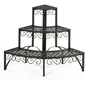 gartenregal blumenregal blumentreppe pflanzentreppe regal blumen garten rund garten. Black Bedroom Furniture Sets. Home Design Ideas