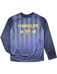 FC Barcelone - Maillot de foot FC Barcelone officiel bleu enfant Taille de 8 à 16 ans - 8 ans,10 ans,12 ans,14 ans,11 ans,9 ans