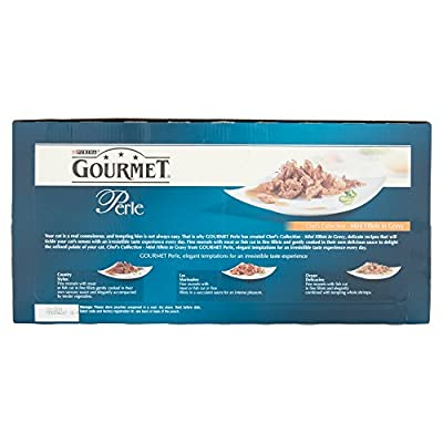 Gourmet Perle Cat Food Chefs Collection, 60 x 85g by NET1K