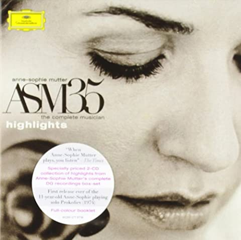 Anne-Sophie Mutter: The Complete Musician / Highlights