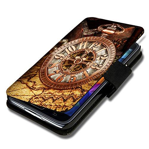 Book Style Flip Handy Tasche Case Schutz Hülle Schale Motiv Etui für Apple iPhone 6 - 4,7 Zoll - Flip 1A52 Design1 Design 5