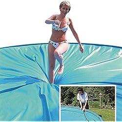 Paradies Pool GmbH Sicherheits-Abdeckung 5,00m x 9,00m Safe Top mit Keilbiese für Funktionshandlauf