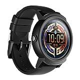 Ticwatch E Shadow Smart Watch le plus confortable, écran OLED de 1,4 pouces, Android Wear 2.0, Compatible avec iOS et Android, Assistant Google