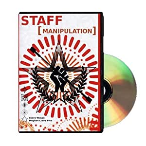 Staff Manipulation - Instructional Fire Staff DVD by No Tea No Coffee (English Manual)