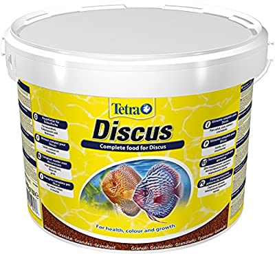 Tetra Discus (Specially Designed for the nutritional needs of Discus Fish The Main Food Granules), Various Sizes