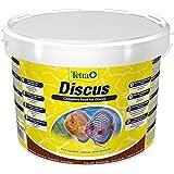Tetra Discus (speziell an die Ernährungsbedürfnisse von Diskusfischen angepasstes Hauptfutter in Granulatform), 10 Liter Eimer