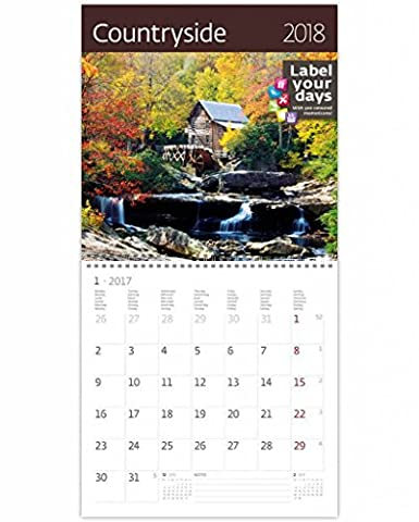 CA12-17 Kalpa Kit D'Extension Avec Pallo Calendrier Mural 2017 Campagne Exclusive Collection Calendrier mural 30 x