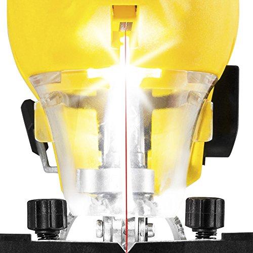 TROTEC Stichsäge PJSS 10-230V Pendelhubstichsäge inklusive Stichsägeblätter-Set Metall (10-teilig) - 5