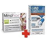 Les 3 Chênes PROGRAMME MINCEUR - MinciNov + Lipophedrine - Graisses en excès et Perte de poids