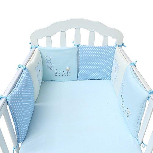 Bonways Infant Safer Crib Bumper...