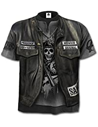 Spiral Sons of Anarchy Unisex T Shirt JAX WRAP Redwood Samcro All Sizes