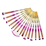 Beauty-Werkzeuge,Daysing Schminkpinsel Kosmetikpinsel Pinselset Rougepinsel Augenbrauenpinsel Puderpinsel Lidschattenpinsel 15 pcs Make-up Pinsel-Sets,Valentinstag, Freundin,Tanzparty, Mode