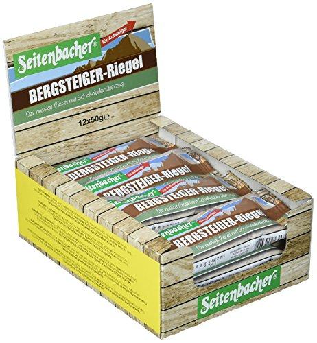 Seitenbacher Bergsteiger Riegel für Aufsteiger, 12er Pack (12 x 50 g)