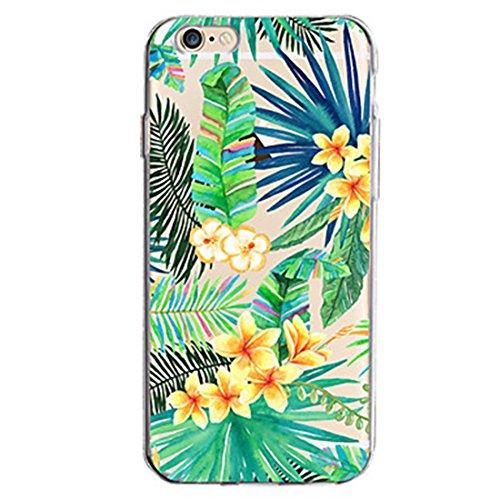 coque iphone 5 fleurs feuilles