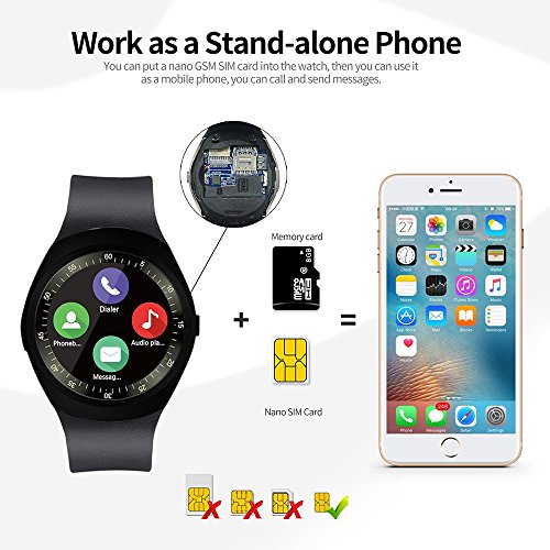 Zoom IMG-2 smart watch idealby rotondo android