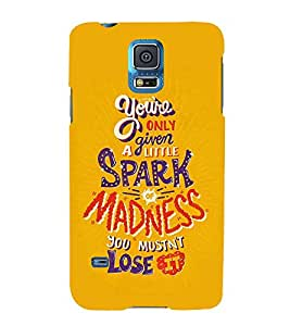 FUSON Spark Of Madness Lose 3D Hard Polycarbonate Designer Back Case Cover for Samsung Galaxy Grand 2 :: Samsung Galaxy Grand 2 G7105 :: Samsung Galaxy Grand 2 G7102 :: Samsung Galaxy Grand Ii