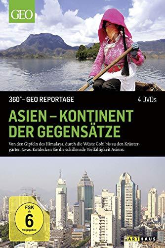 360° - GEO Reportage: Asien - Kontinent der Gegensätze [4 DVDs]