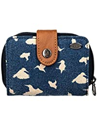 Animal First Light Womens Wallet//purse Purse India Ink Blue One Size