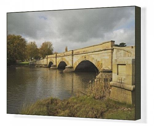 canvas-print-of-ross-bridge-and-macquarie-river-ross-tasmania-australia-pacific