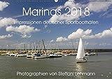 Marinas 2018. Impressionen deutscher Sportboothäfen (Wandkalender 2018 DIN A2 quer): Faszination Yacht- und Sportboothäfen (Monatskalender, 14 Seiten [Kalender] [Apr 01, 2017] Lehmann, Steffani