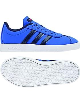 adidas VL Court 2.0 K, Zapatillas de Deporte Unisex Adulto