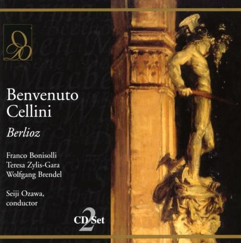 Berlioz : Benvenuto Cellini. Ozawa, Bonisolli