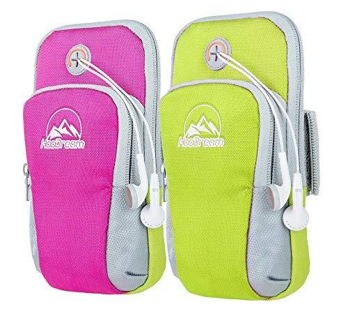 Sportarmband, mit Arm-Tasche Wasserdichte Arm Tasche, für iPhone 7, 7Plus, iphone6,6plus, 5,5S, 5C, Samsung Galaxy S8, S8Plus Kante, S7, S7, S6, S5, S4, S3, Note, Nexus 5Smartphone (Arm Iphone6)