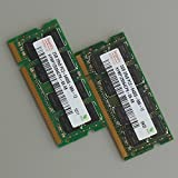 2RAM A 4GB 2x 2GB RAM Speicher DDR22GB Notebook PC Notebook 2Rx8PC2–6400s-666–12