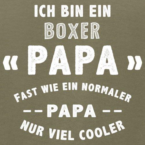 Ich bin ein Boxer Papa - Herren T-Shirt - 13 Farben Khaki
