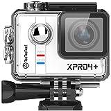 TecTecTec XPRO4+ Camera digitale Sport 4K Ultra HD Action Cam 4K WIFI Sport Camera Impermeabile Grandangolare