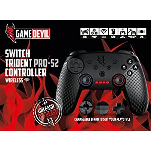 GameDevil Switch Trident PRO S2 Wireless Controller [ ]