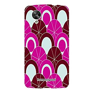 HomeSoGood Waiting In Queue Pattern Multicolor Case For LG Nexus 5 ( Back Cover)