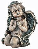 Grabengel kniend aus Bronze 5283