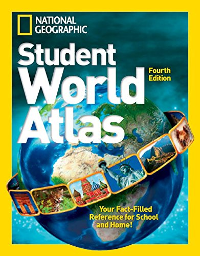 Student world atlas. Per la Scuola media (National Geographic Kids)