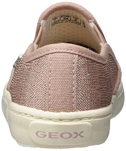 Geox Jr Kiwi Girl D, Sneakers basses fille Rose (Rosec8011)
