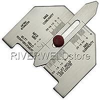 Tamaño automático de soldadura autógena calibrador de ajuste de soldadura Inspección Métricas
